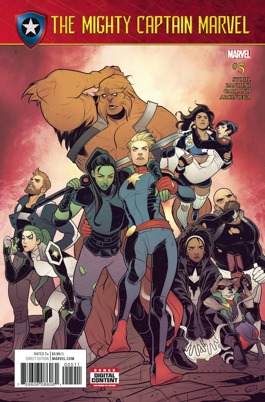 Mighty Captain Marvel #5 SE