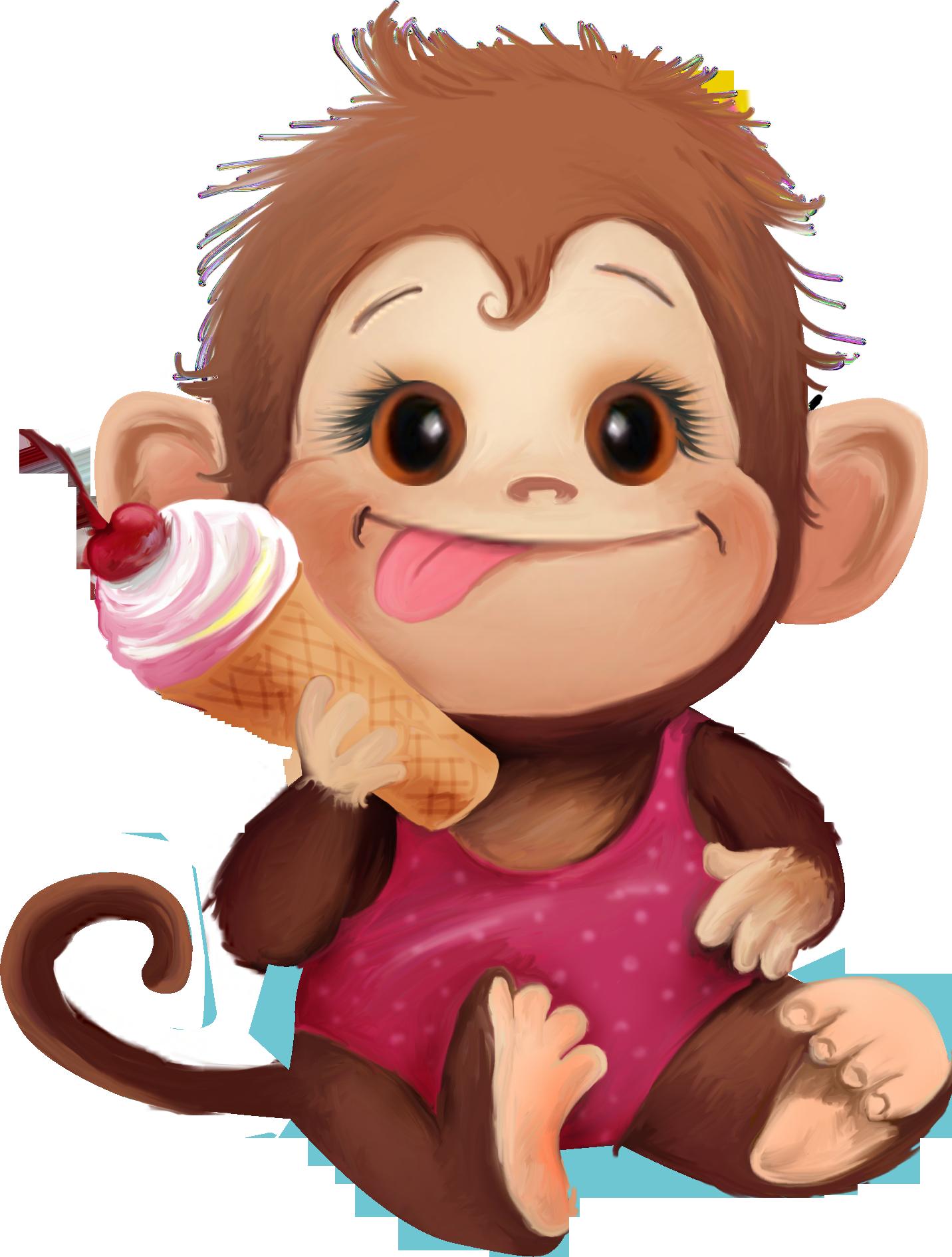 Телескоп, рисунки обезьян прикольные