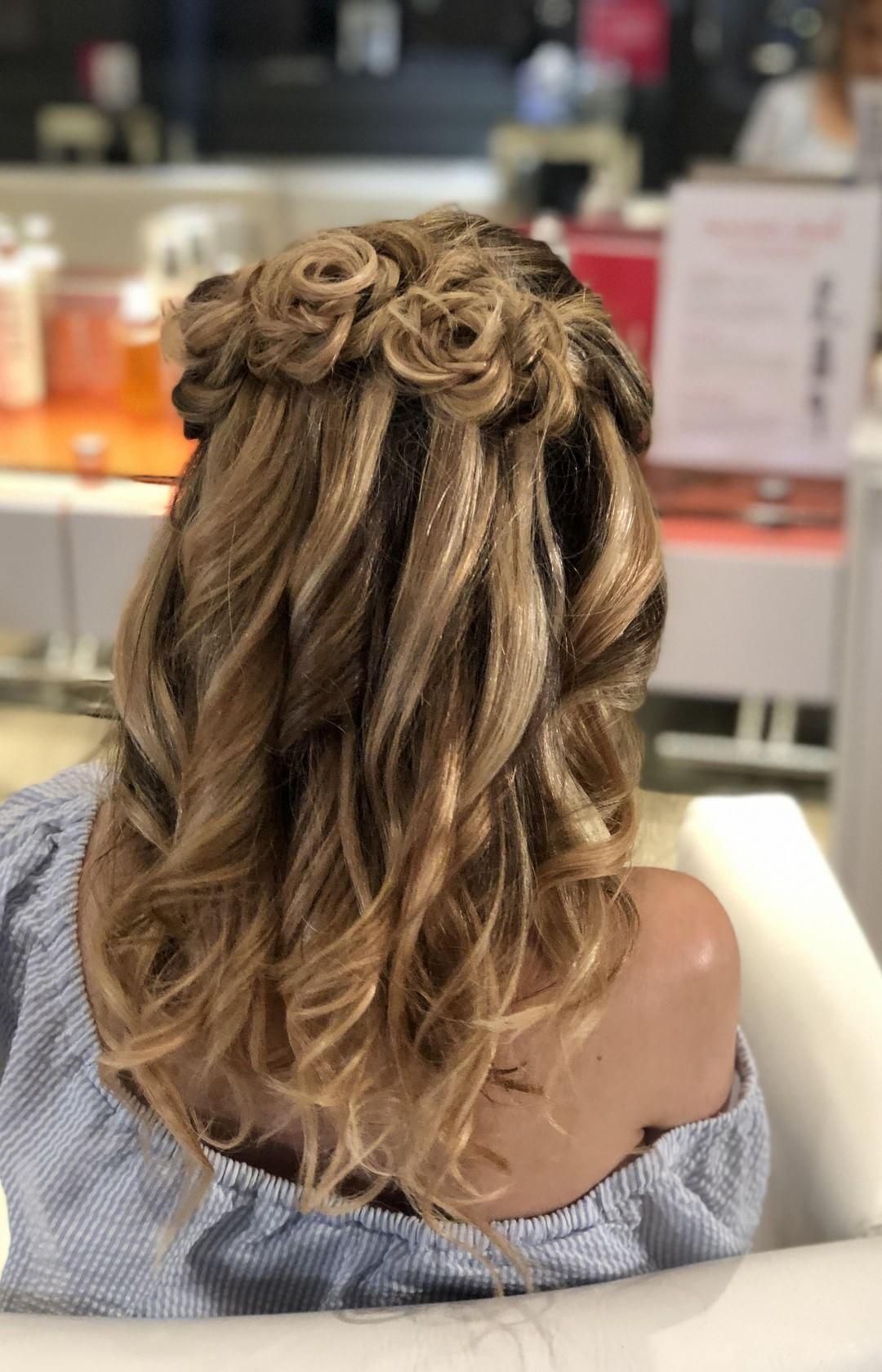 Rose Braid Hair Igtv Braids Braided Hairstyles Braided Rose Hairstyle Rose Braid