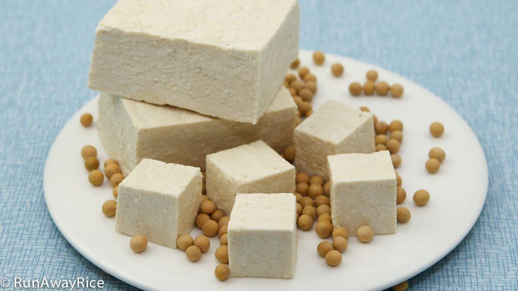 Tofu Bean Curd Dau Hu Easy Recipe With Step By Step Video Tofu Homemade Tofu Homemade Beans