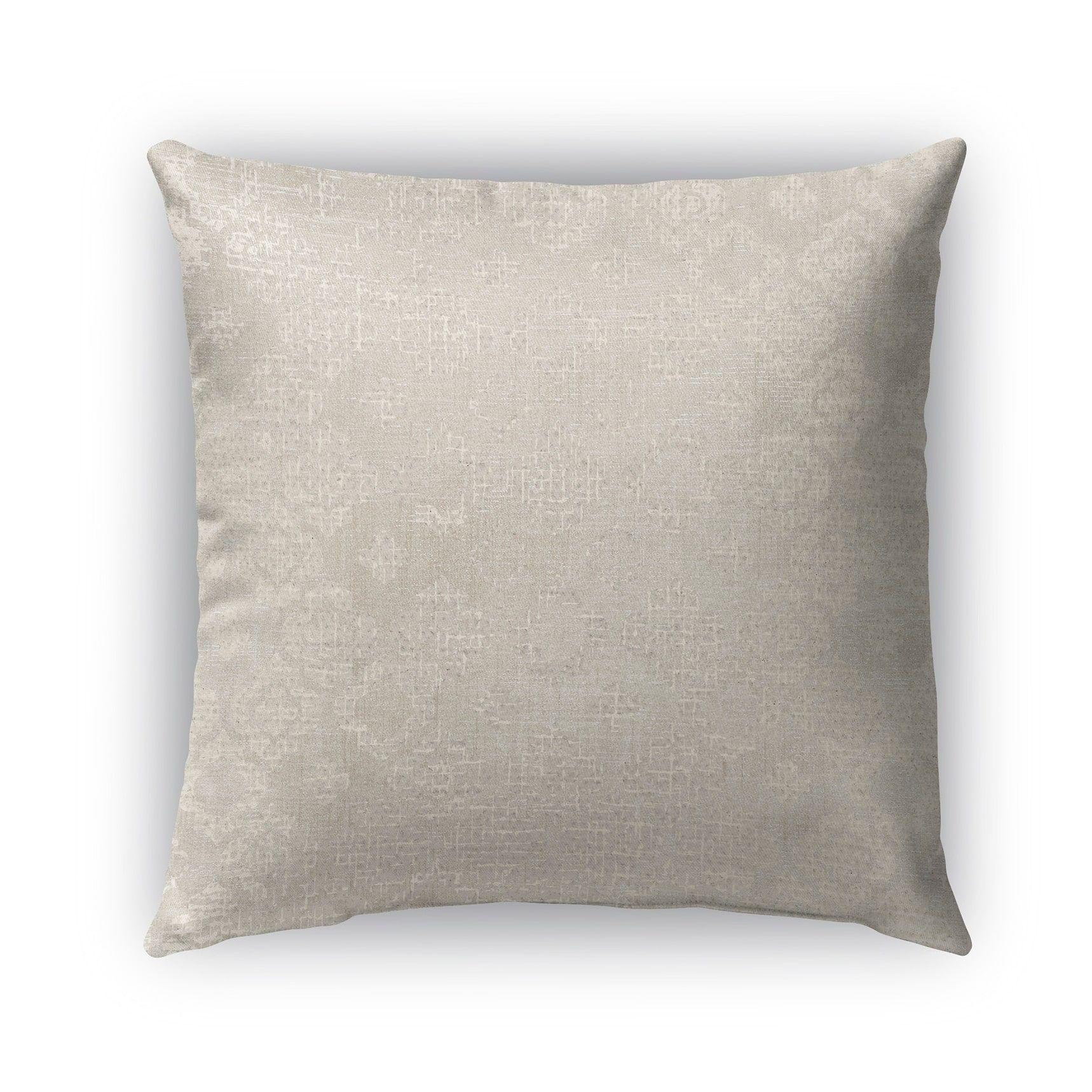 26X26 Pillow Insert Beauteous Kavka Designs Ivory Grey Versilia Outdoor Pillow With Insert 26 X Decorating Design