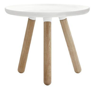 Couchtisch Tablo Small Ø 50 cm, Weiß von Normann Copenhagen finden - wohnzimmer deko online shop