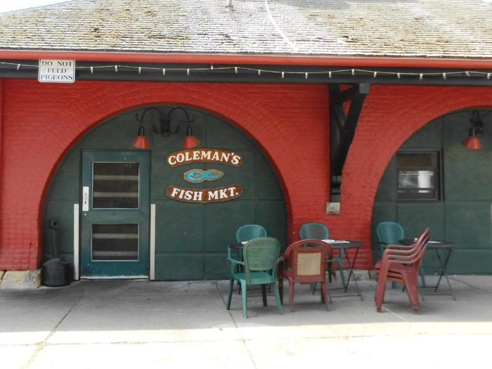 The World S Best Fish Sandwiches Are Tucked Away Inside Colemen S Fish Market In West Virginia West Virginia Fish Sandwich Virginia