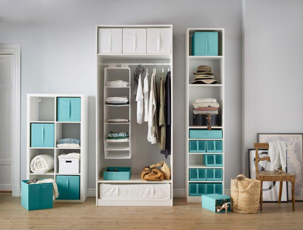 Ordnung Im Schlafzimmer Und Kleiderschrank Mit Ikea Aufbewahrung