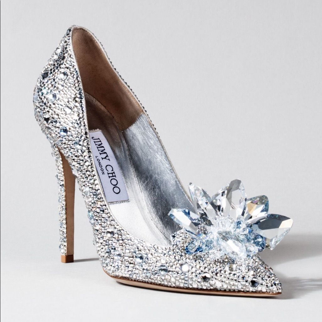 Jimmy Choo Cinderella Heels Jimmy Choo Cinderella Shoes Silver Wedding Shoes Cinderella Shoes