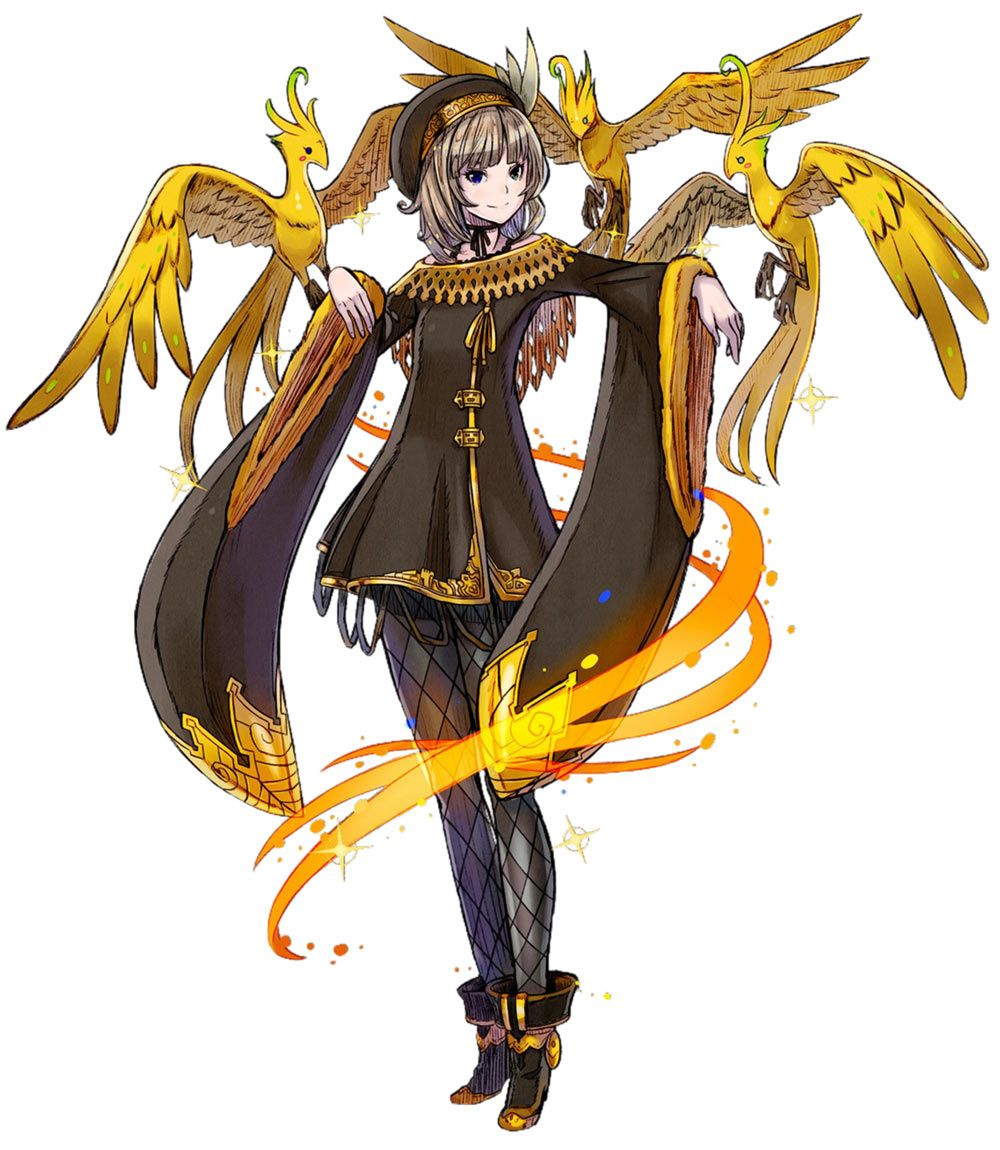 Nazuna The Golden Character Art From Terra Battle Art Artwork