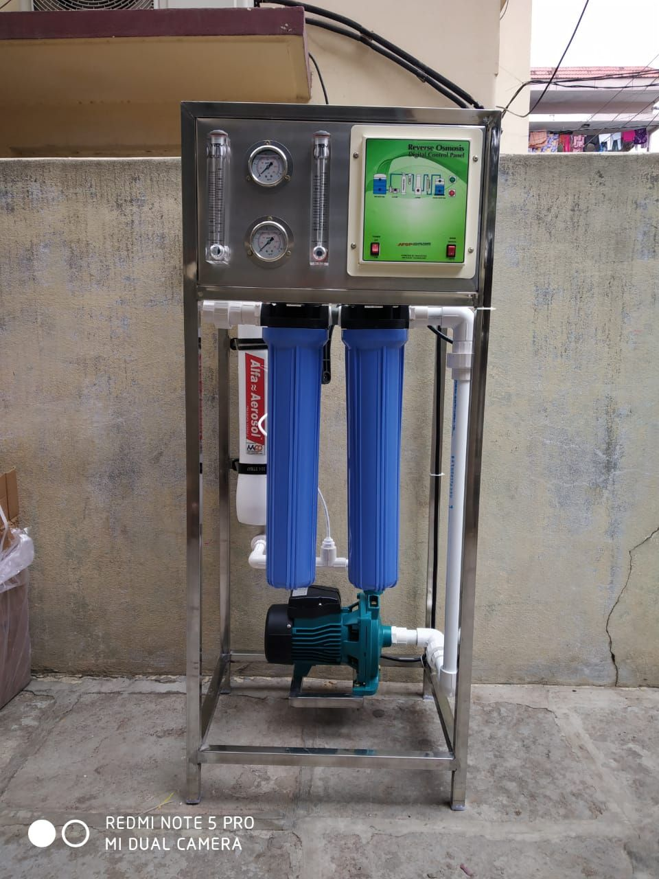 100 Lph Water Purifier Water Treatment Plant Water Purifier Water Treatment