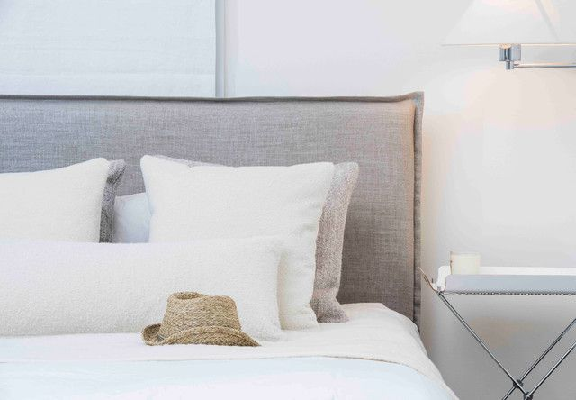 Flanged Headboard Rosemary Hallgarten Bedroom Design