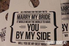 Groomsmen Proposalhow To Ask Groomsmenhow Bridesmaidsgroomsmen Bowill You Be My Bridesmaidbridesmaid Proposal Cardsengagement Invitation