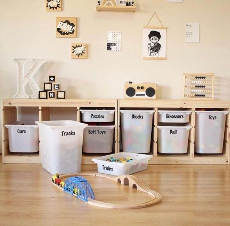 mommo design10 ikea trofast hacks  toy room organization