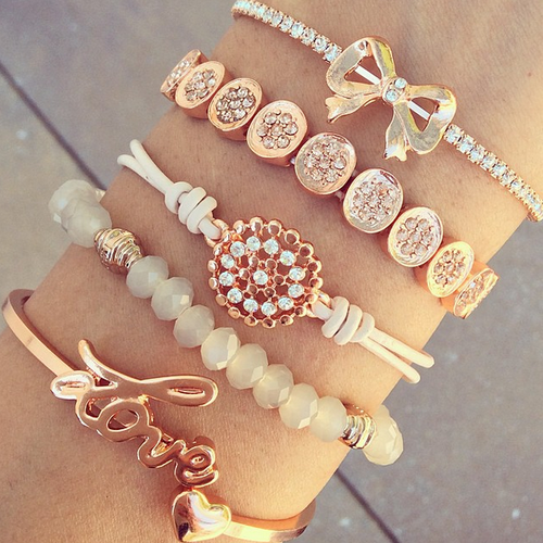 Find Images And Videos About Chic Crazy Bracelets On We Arm Candy