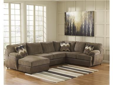 For Signature Design Laf Corner Chaise 2410016 And Other Living Room Sectionals At Sylvan Furniture In Lewiston Id The Cladio Hickory Sectional