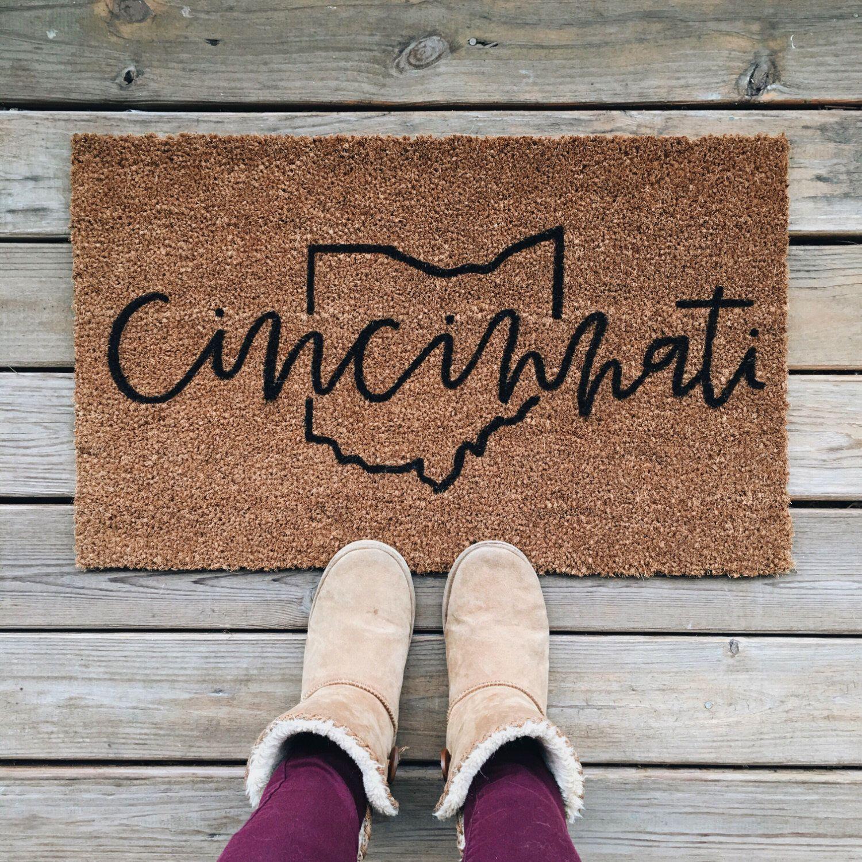 half outdoor cute the round welcome home doormat setting mats mat decoras door luxury