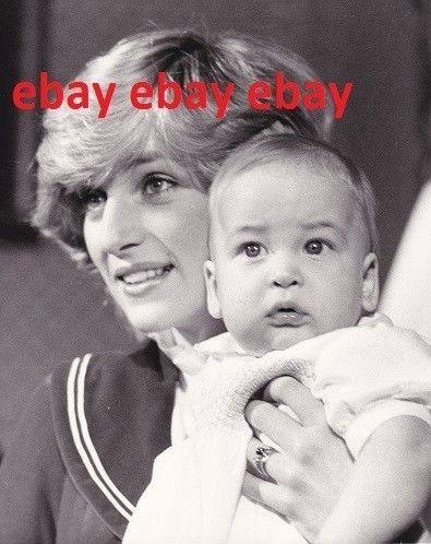 Original Princess Diana Press Photo Prince William 6 Months | eBay
