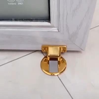 Unsichtbarer Türstopper aus magnetischem Edelstahl
