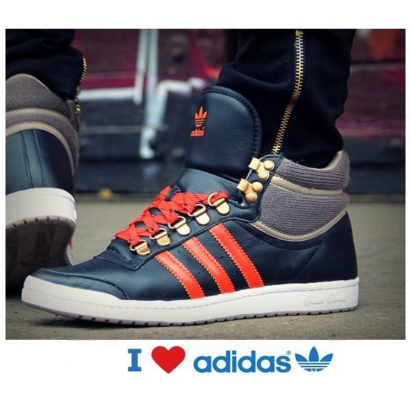 pretty nice 86491 ed40f Adidas Top Ten Hi Sleek Hook Originals. Find this Pin and more on buty  damskie womens shoes ...