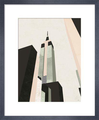 Empire State Art Prints City Art City Painting