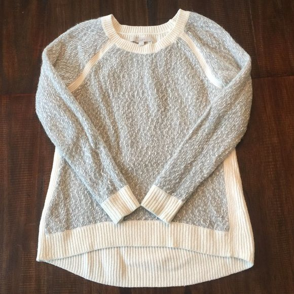 LOFT sweater Size small. Worn once and in perfect condition! Smoke free home LOFT Sweaters Crew & Scoop Necks