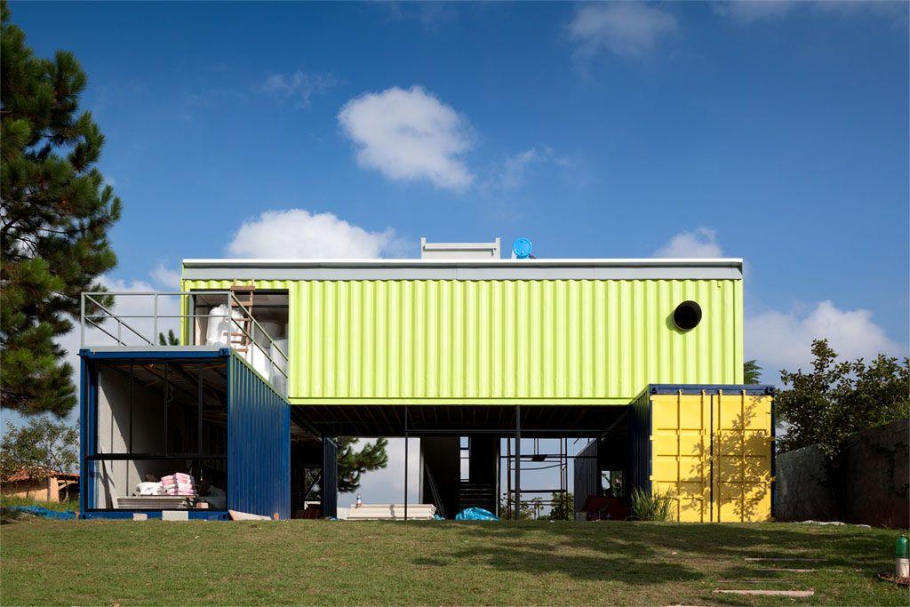 Casas containers imagenes buscar con google casas - Casa hecha con contenedores ...