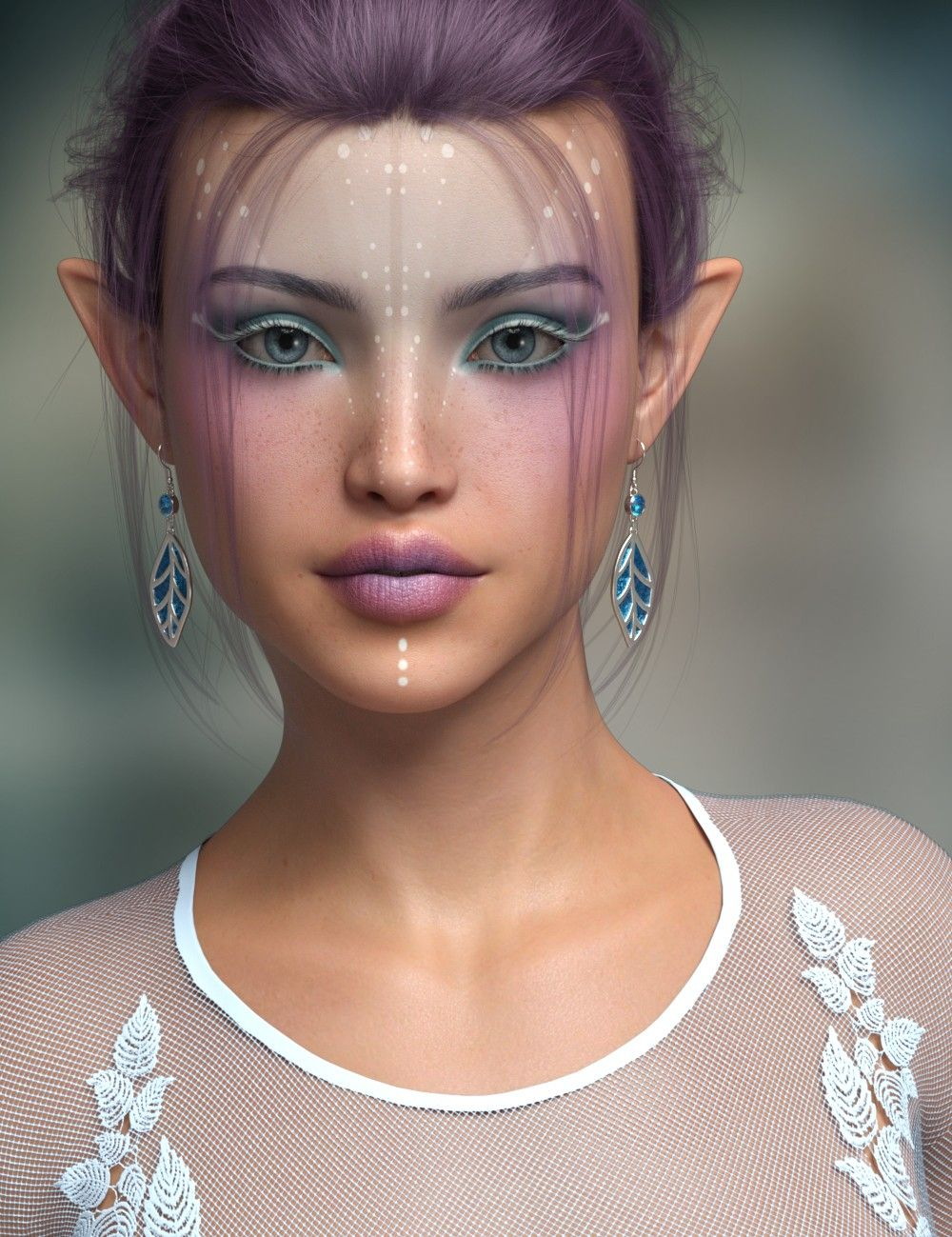 P3D Mylou for Genesis 8 Female | 3D Models and 3D Software