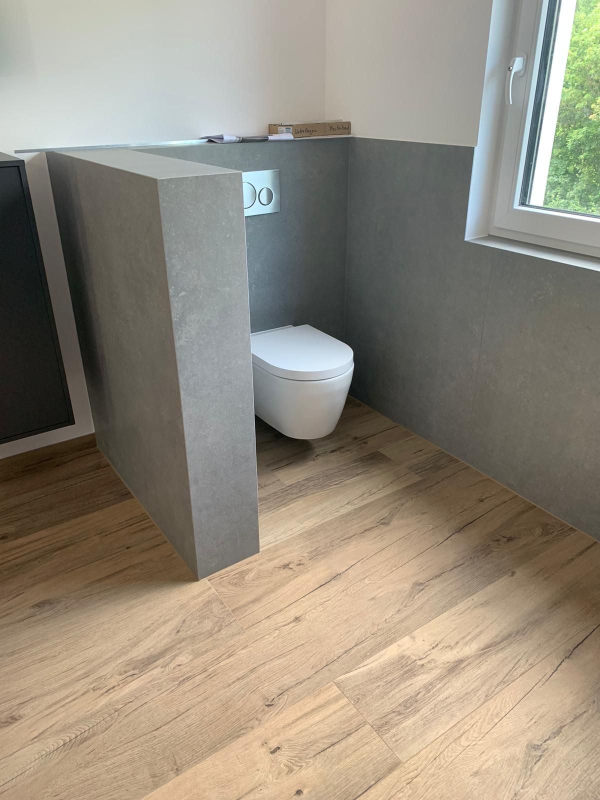 Kundenprojekt WC in 20   Badezimmer gestalten, Badezimmerideen ...