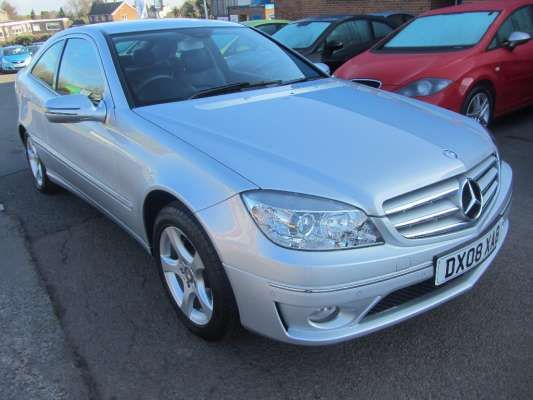 Used 2008 08 Reg Silver Mercedes Benz Clc Clc 220 Cdi Se Panorama