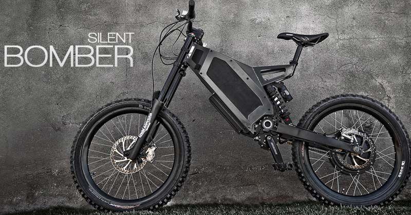 Stealth Bomber A Gnarly Fast Mountainous E Bike Fahrrad Design
