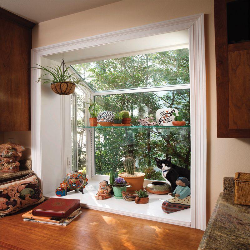 Series 2051 DP50-Rated Stucco Replacement Garden Window