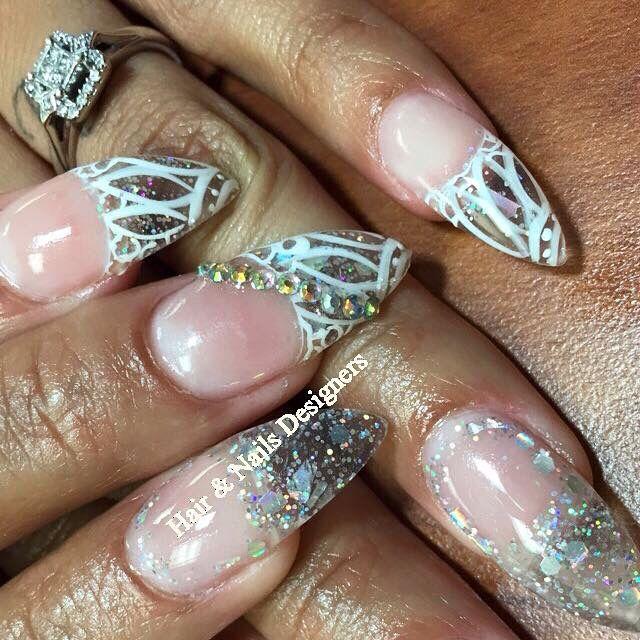 Crystal Stilettos Hair Nails Designers Pinterest Stilettos