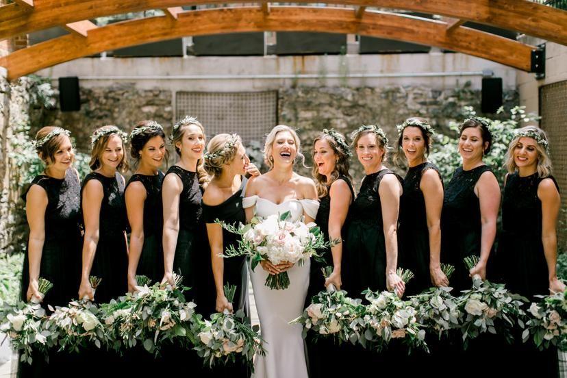 Featured Photographer: Brianna Wilbur Photography; Bridesmaid dresses ideas.