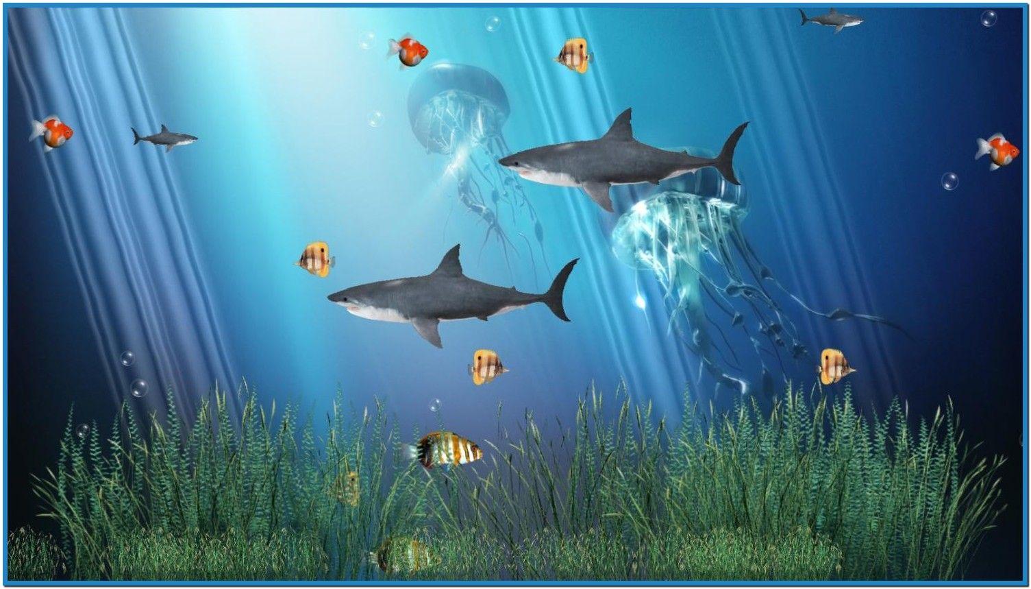 Animated Aquarium Screensavers Windows 7 Download Free Free Animated Wallpaper Animated Wallpapers For Mobile 3d Animation Wallpaper