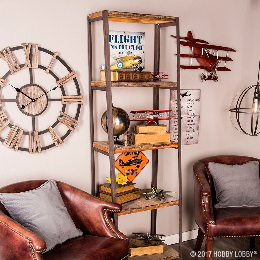 Create An Aeronautical Nook For The Airplane Enthusiast In Your Life Home Decor Decor Travel Themed Bedroom