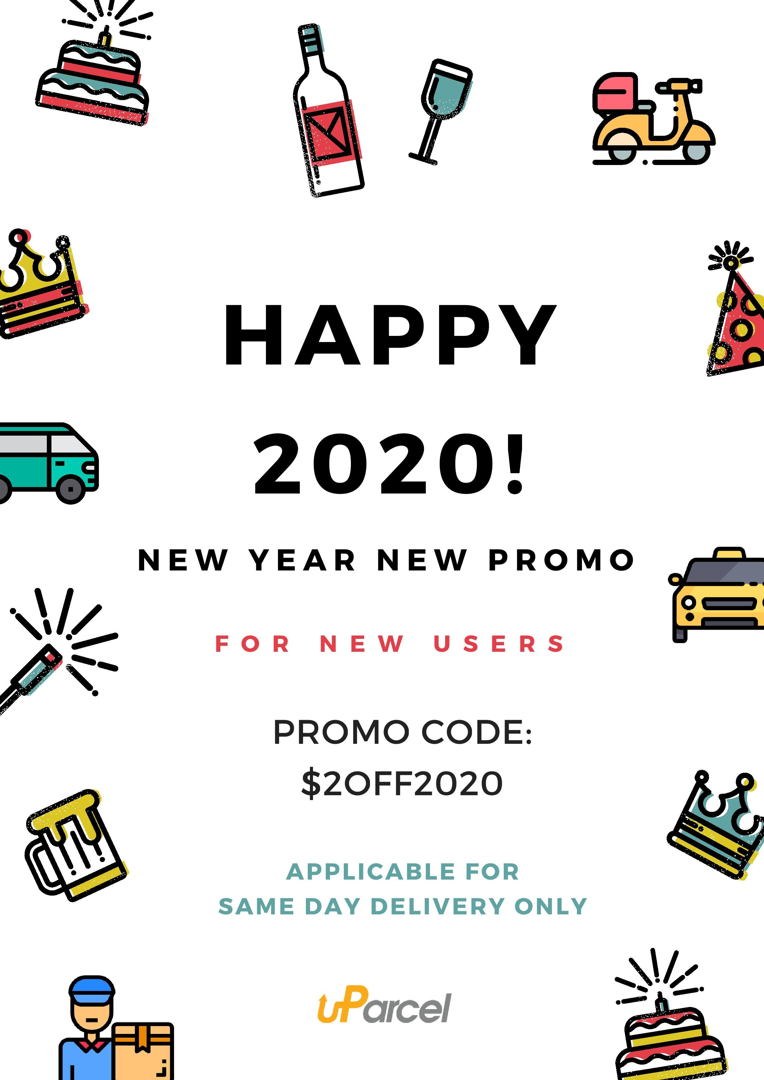 Grab the new offer by uParcel in 2020 Delivery service