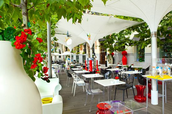 Pin By Sabrina Hernando On Madrid Top Cafes Table Decorations Decor Furniture