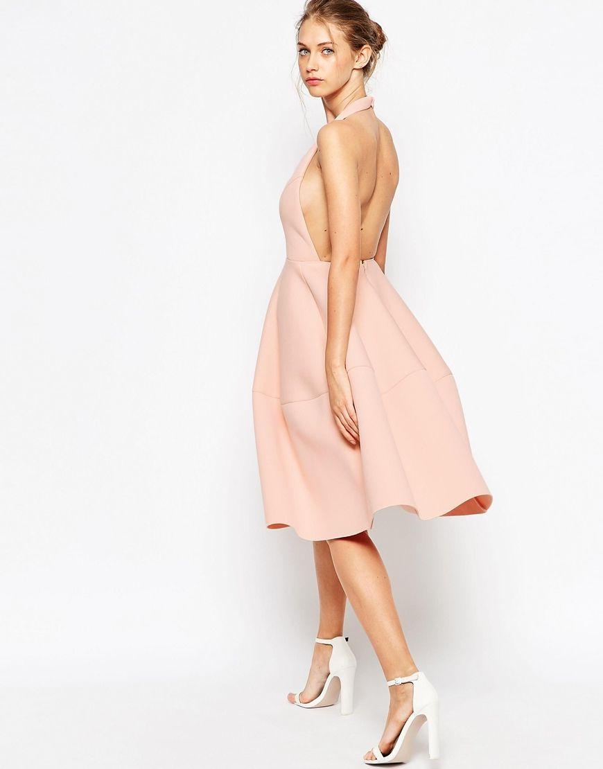 22+ Backless midi dress asos trends