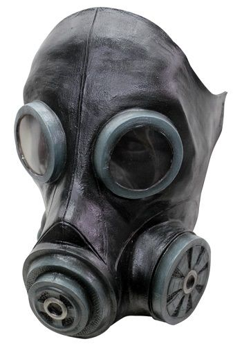 smoke mask black are you our mummy there was this gas scare earlier and the only thing we