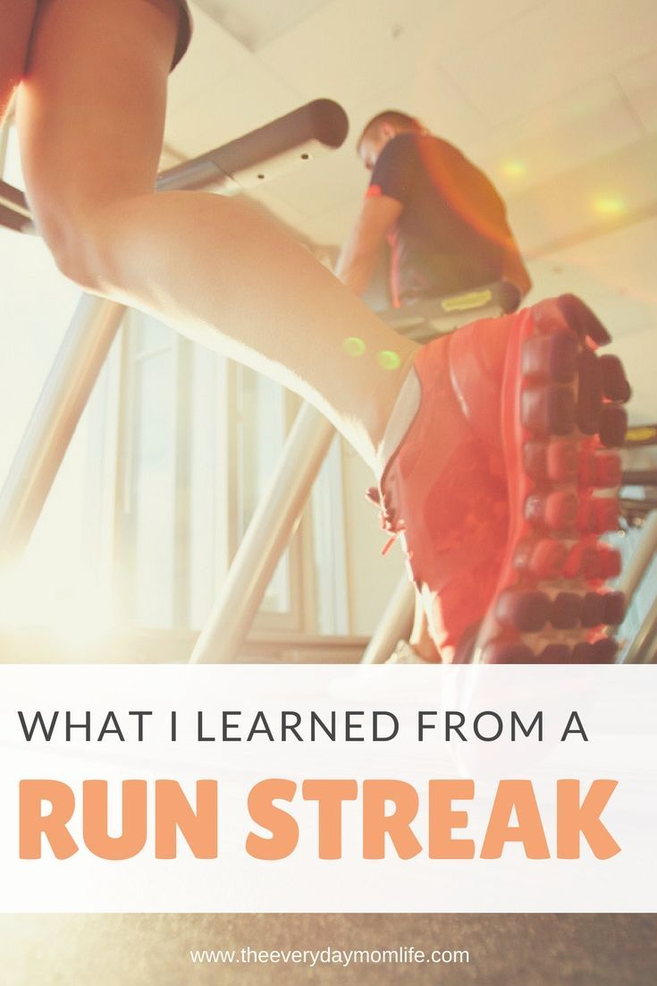 9 Things I've Learned From A Run Streak #running #runningtips #fitness #fitnessmotivation #dieting