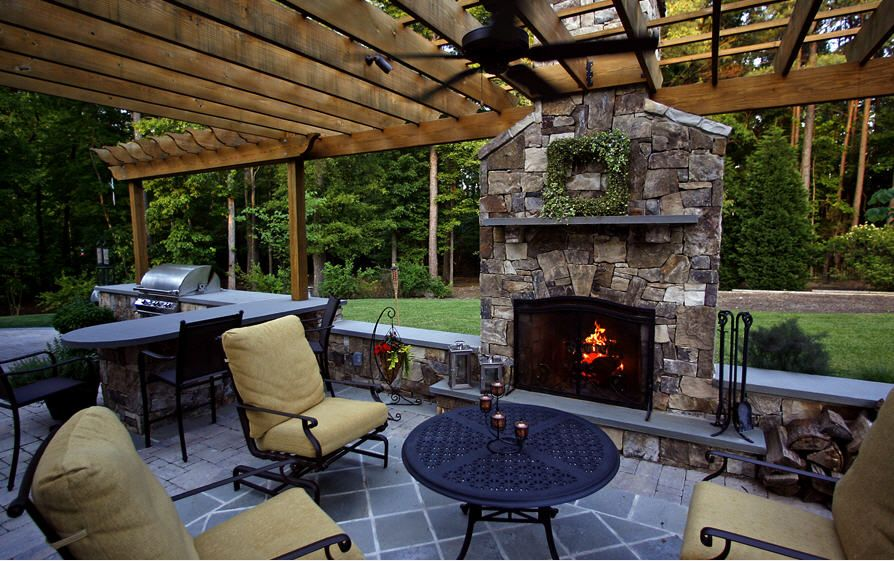 The patio for my dream cabin @legendarylandscape.com ... on My Dream Patio id=93633