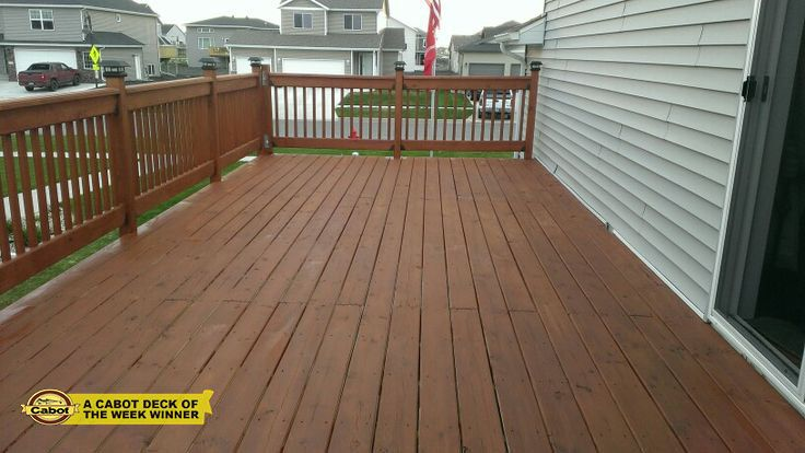 Terry W Used Cabot Semi Solid Stain In New Redwood To Really Give