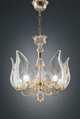 Traditional chandelier (Murano blown glass) OTELLO S5 la murrina ...