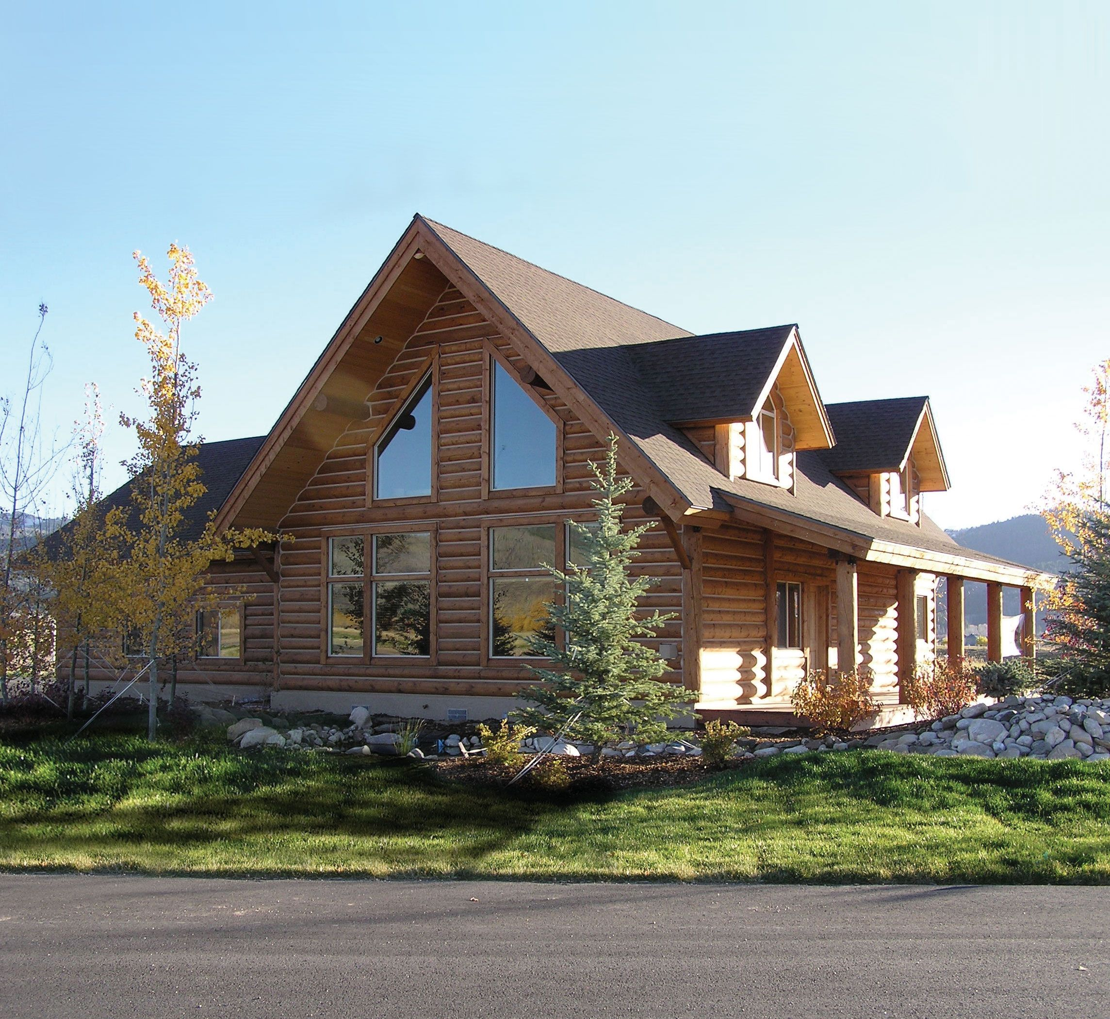 Photos Of Houses With Dormers And Attached Garages Log Homes Log Home Floorplans Ca Log Home Plans Ca Ca Log Hom Log Home Plans Log Homes Log Home Builders