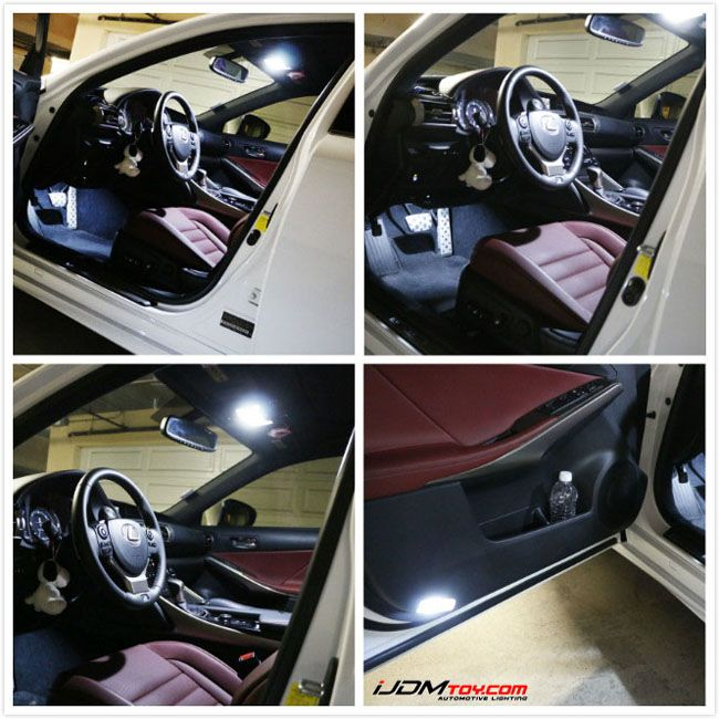lexus is350 interior lights