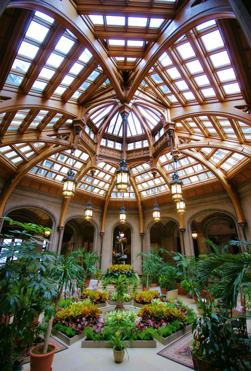 Biltmore Mansion - interior garden was here in 2011 going again this ...
