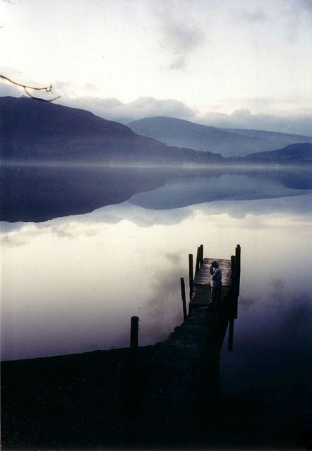 Derwent water, Keswick, Jetty, Lake by Goldenaquila, via Flickr