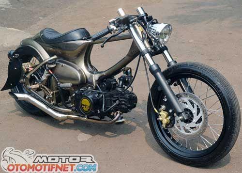 contoh modifikasi motor legenda