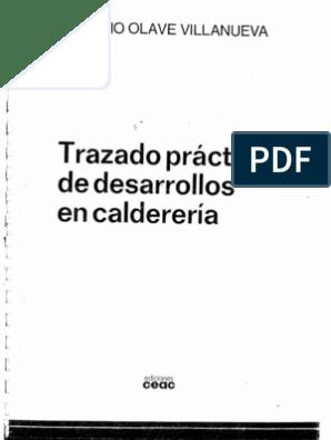 Intersecciones Y Desarrollos Trazados De Caldereria Pdf Caldereria Calderería Buscar Libros