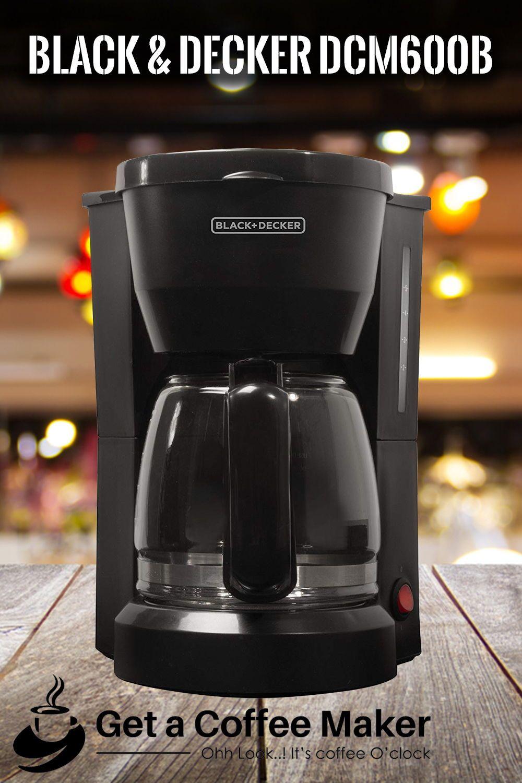 Black & Decker DCM600B Review 5 cup coffee maker, Coffee
