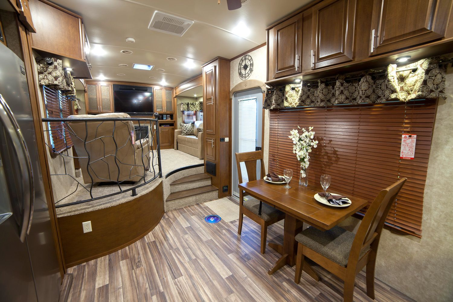 astonishing used front living room fifth wheel for 73890