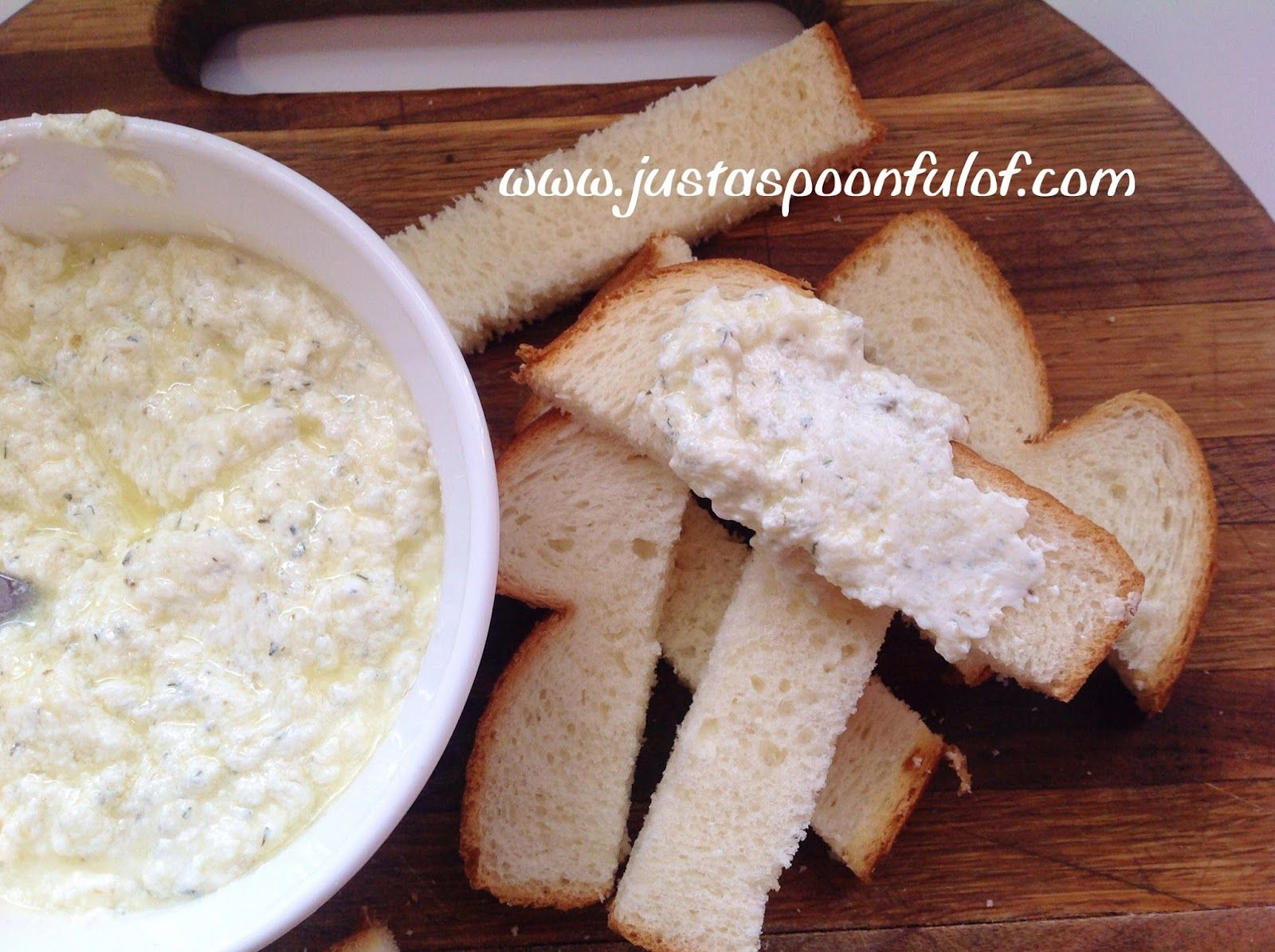 Just a Spoonful of: Warm Garlic Cheese Spread