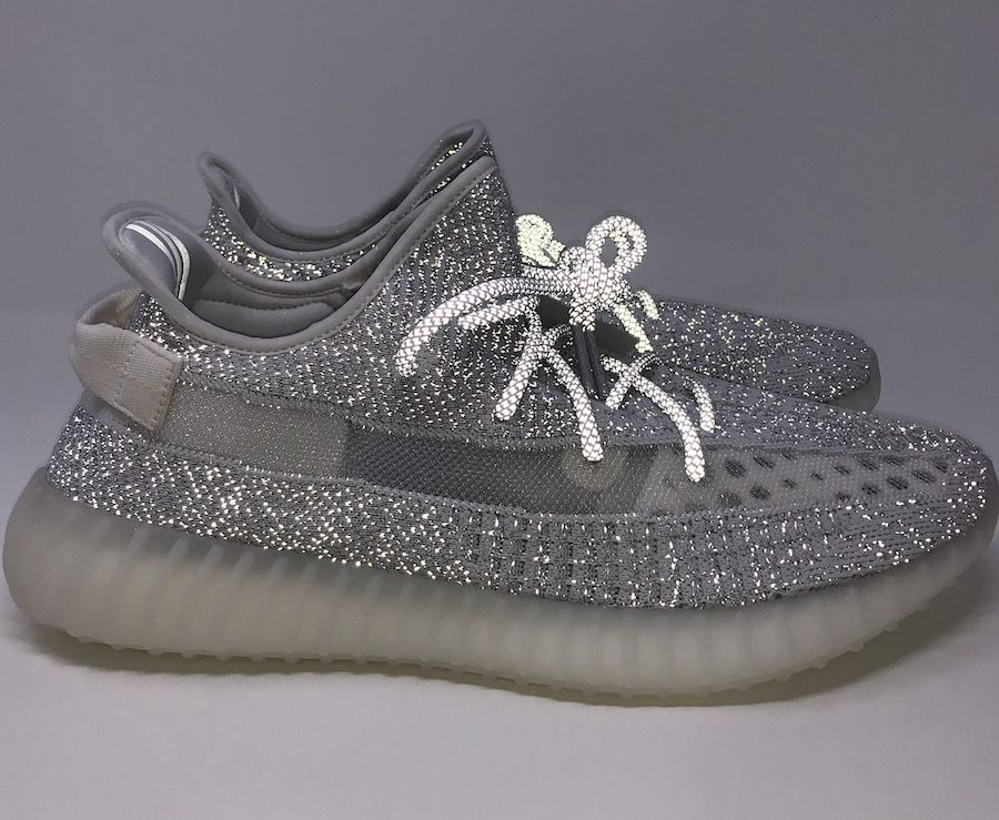 "040e84e673b Reflective Detailing on the adidas Yeezy Boost 350 V2 ""Static"""